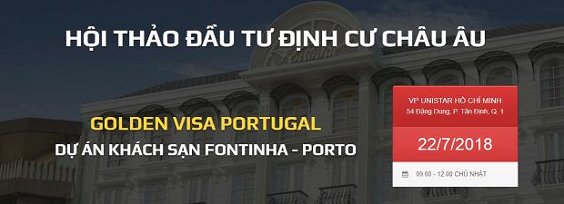 Dự án Fontinha Hotel Thành phố Porto tráng lệ